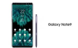 Hình ảnh rò rỉ đầu tiên về Galaxy Note 9