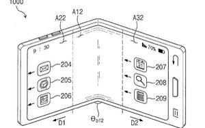 Thêm hình ảnh rò rỉ về chiếc điện thoại gập màn hình của Samsung