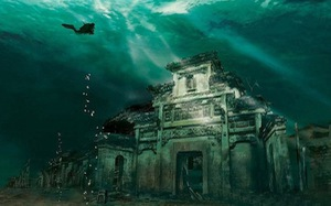 Clip khám phá thành phố 1.300 tuổi dưới lòng hồ sâu