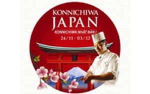 Konnichiwa Japan - Lễ hội ẩm thực Nhật Bản
