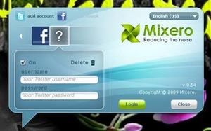 Tán gẫu trên Facebook và Twitter không cần trình duyệt