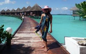 "Du lịch ""bụi"" ở Maldives"