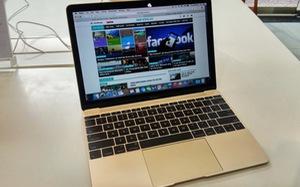 Xem ảnh Apple MacBook 12-inch Gold mới về đến VN