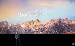 Apple OS X 10.12 đổitên mới thành macOS Sierra
