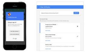Google cải thiện bảo mật hai lớp dễ xài hơn