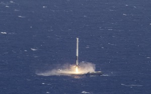 """SpaceX phóng thành công tên lửa """"tái sử dụng"""""""