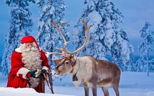 Tiếng chuông Giáng sinh an lành ở làng ông già Noel