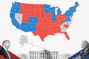 Bầu cử Mỹ: Biden 'đắc cử tổng thống' thứ 46 của Mỹ, giành 306 phiếu đại cử tri