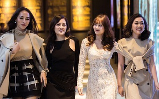 """Ninh Dương Lan Ngọc làm vedette cho Fashion show """"Gái già lắm chiêu 2"""""""