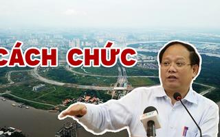 Ông Tất Thành Cang bị cách chức Ủy viên Trung ương Đảng, PBT Thành ủy