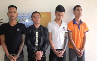 Bắt ổ nhóm chuyên ném chất bẩn để đòi nợ tại Nghệ An
