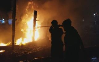 Cháy tàu cá thiệt hại gần 3 tỷ đồng