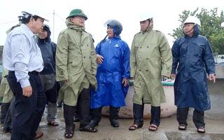 Bình Định sơn tán 14.500 hộ dân, 5.000ha lúa nguy cơ ngập úng trước bão số 5