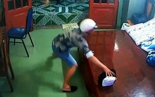 Nam thanh niên trộm chiếc giỏ được khai báo chứa tài sản 1,2 tỉ đồng