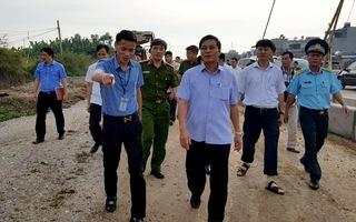 """Chủ tịch Hải Phòng thị sát, chỉ đạo xử lý dứt điểm việc giang hồ """"cướp đất"""""""