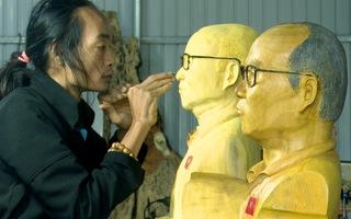 Người tạc tượng HLV Park Hang Seo với mong muốn được gửi tặng thần tượng
