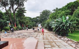 Đầu tư 5 tỉ đồng nâng cấp sân lát tượng đài Hoàng đế Quang Trung
