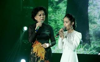 """Danh ca Giao Linh song ca cùng """"cô bé triệu view"""" Jennifer Thiên Nga"""