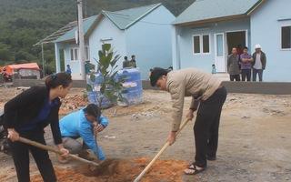 51 hộ dân ở bản Sa Ná bị mất nhà do mưa lũ đã có nhà mới tại khu tái định cư