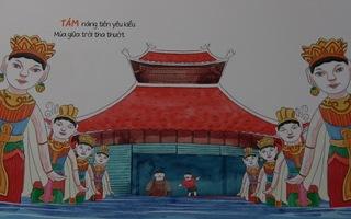"""Tìm về văn hóa truyền thống qua triển lãm """"Một phường rối nước"""""""