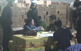 Phát hiện cơ sở nghi làm giả nước tăng lực Number One tại Đồng Nai