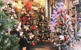Cây thông Noel gần 20 triệu đồng vẫn hút khách