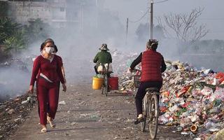 Mục sở thị con đường ô nhiễm nhất Việt Nam