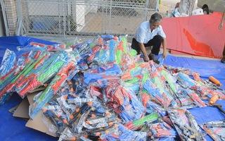 Hơn 1.032 đồ chơi trẻ em nhập lậu bị tiêu hủy