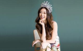 Hoa hậu Khánh Vân chia sẻ mối duyên với nghiệp diễn xuất