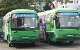 Lổ 8,5 tỷ đồng, doanh nghiệp xin ngưng hoạt động tuyến xe buýt 54