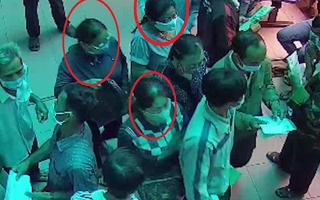 Video: Bịt khẩu trang dàn cảnh móc túi trong bệnh viện
