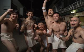 Độc đáo lễ hội đàn ông khỏa thân ở Nhật Bản