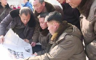 Dân Triều Tiên liên tục dõi theo chuyến công du của chủ tịch Kim Jong Un