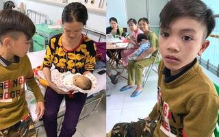 Xúc động với câu chuyện cậu bé 13 tuổi đạp xe 100km từ Sơn La về Hà Nội thăm em trong đêm