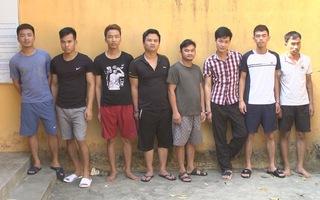 Tạm giam 8 người rượt đuổi, chém nhau trên đường