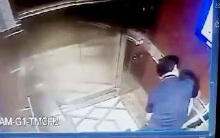 Xác định danh tính nghi can cưỡng hôn bé gái trong thang máy