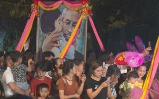 """Ấn tượng với chương trình nghệ thuật """"Dâng Người câu hát quê hương"""" tại lễ hội Làng Sen"""