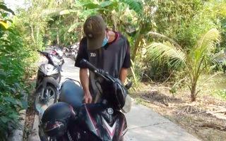 Cảnh giác kẻ gian trộm xe máy tại các đám tiệc