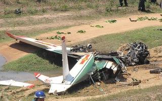 Phi công đã xử lý hạ cánh máy bay quân sự nhưng không thành công