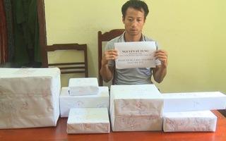 Vận chuyển 2kg ma túy đá, hơn 30 kg thuốc nổ bằng ô tô bị bắt giữ