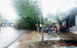Giông lốc làm tốc mái hơn 300 căn nhà i tại Tiền Giang và Long An