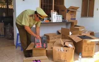 Phát hiện, thu giữ hàng chục ngàn sản phẩm hàng hóa nhập lậu