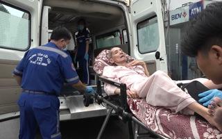 Gian nan hành trình chuyển bệnh bằng xe cấp cứu