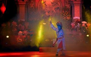 Trang trọng nghi thức giỗ Tổ nghề sân khấu