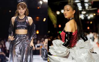 Hoa hậu Lương Thùy Linh làm vedette Bộ sưu tập thời trang của NTK Ivan Trần