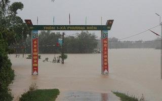 Hà Tĩnh đề nghị hỗ trợ 300 tỉ đồng khắc phục hậu quả mưa lũ