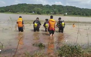 Tìm thấy thi thể nam thanh niên mất tích tại Lòng hồ thủy điện Thác Mơ