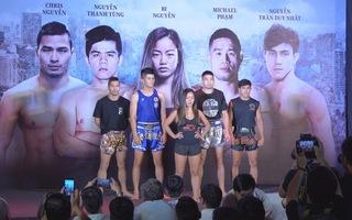 Giải đấu Muay Thái - Kickboxing Immortal Triumph tổ chức lần đầu tại Việt Nam