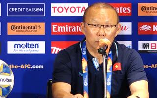 Video: HLV Park Hang Seo 'toàn đội sẽ cố gắng hết sức trong trận gặp Triều Tiên'