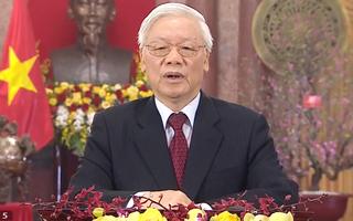 Video: Tổng Bí thư, Chủ tịch nước Nguyễn Phú Trọng chúc tết xuân Canh Tý 2020